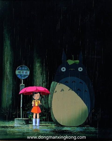 【动漫推荐】线上银河棋牌《龙猫》你看,树枝上站着一只龙猫