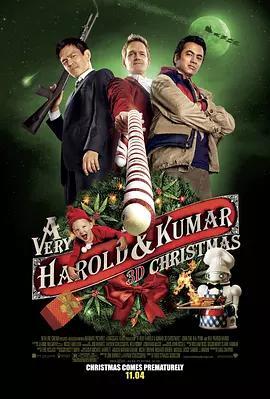 猪头逛大街3 A Very Harold & Kumar 3D Christmas