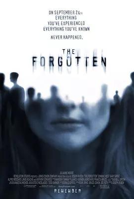灵异拼图 The Forgotten_海报