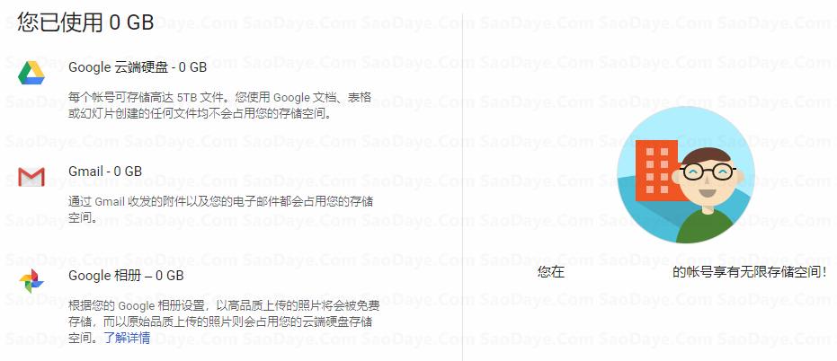 超详细免费申请无限容量的谷歌云盘Google Drive 详细图文教程 其他 第1张