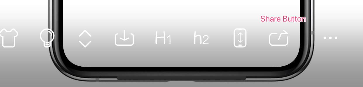 Bottom Toolbar 1