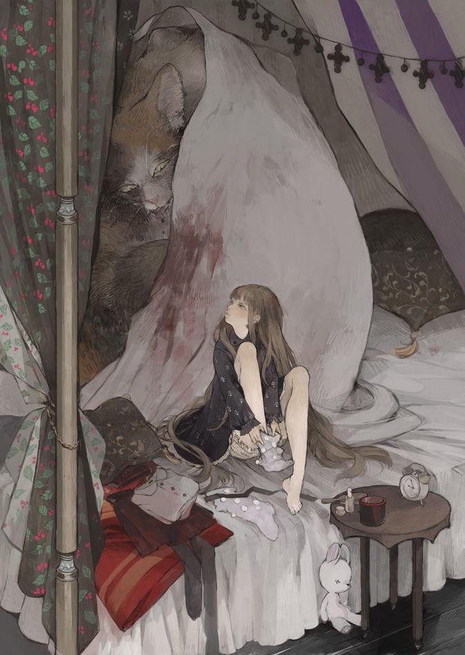 今夜祝你安眠。「天篷床」特輯 动漫精品图片-第1张