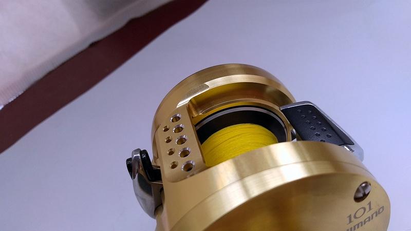双轴卷(水滴轮&鼓轮)绕线量对抛投和使用的影响
