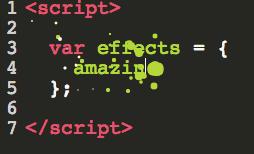 超动感打字特效 评论框配置activate-power-mode打字效果