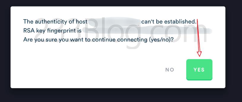允许SSH连接