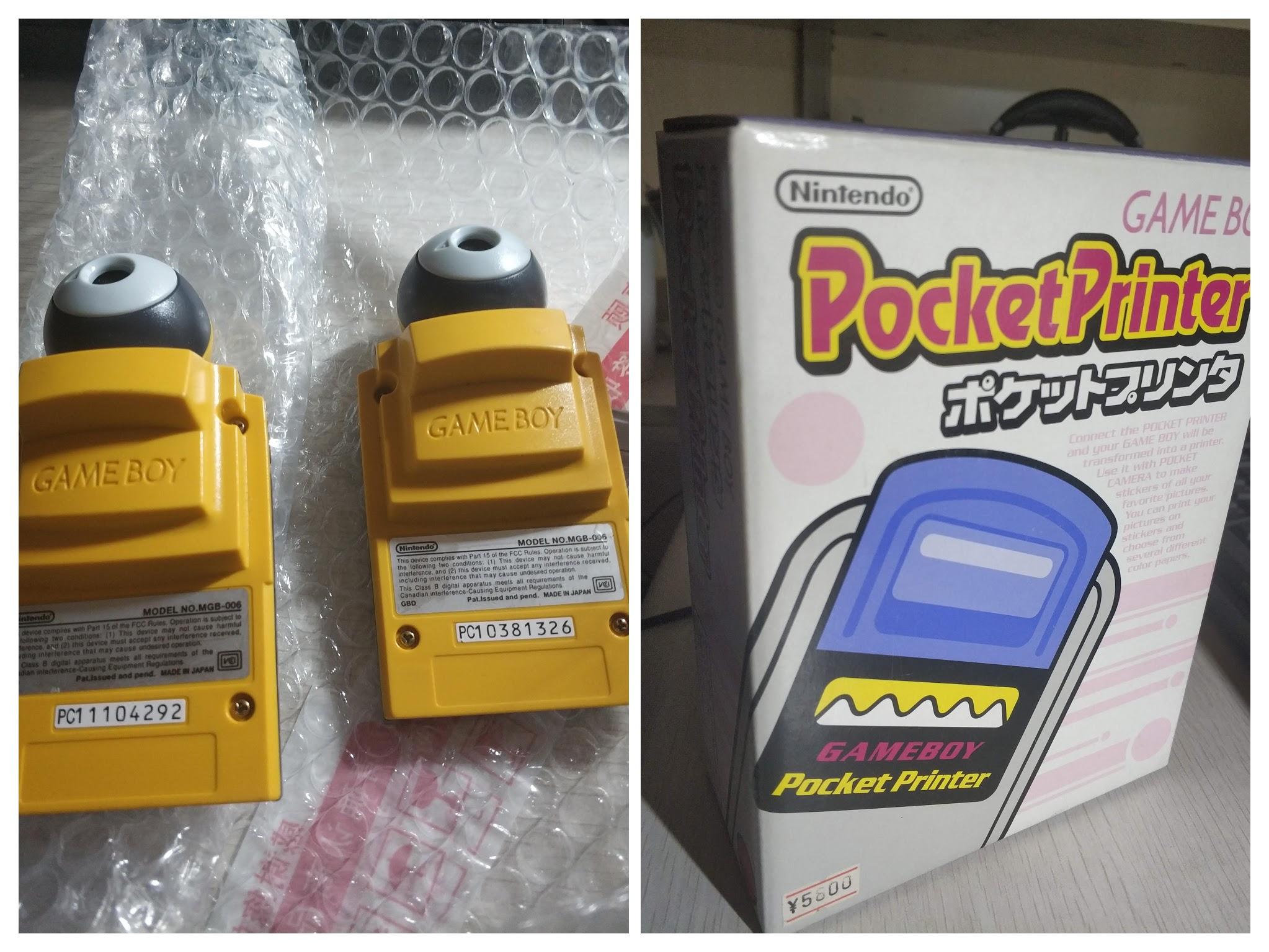 Pocket Printer和Pocket Camera