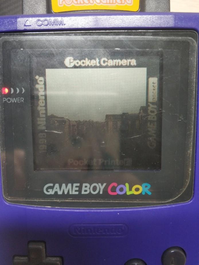 用Pocket Camera拍摄的宿舍楼