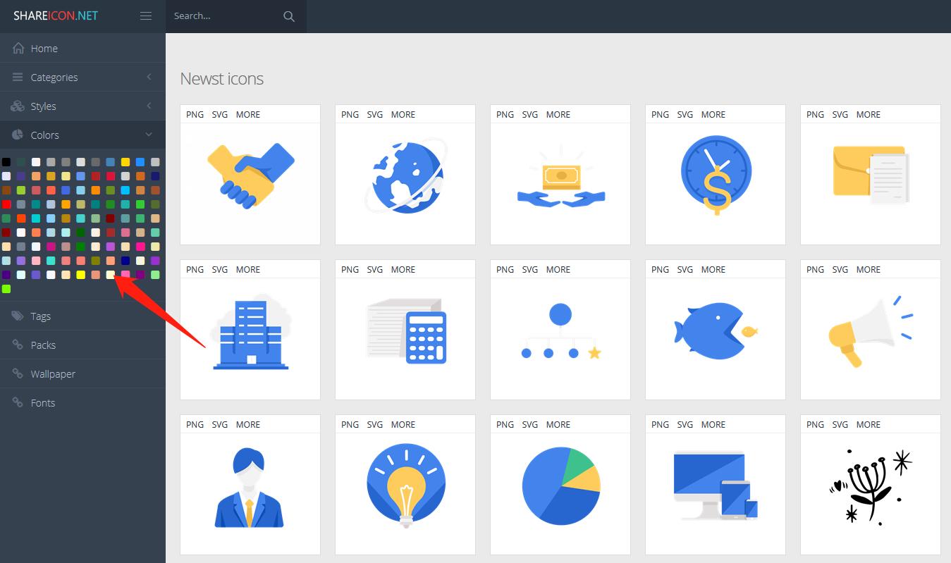 【免费】Share Icon ,25万 +ICON 图标任你下载!-第2张图片-木头资源网