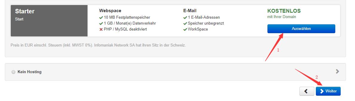 infomaniak圣诞活动:免费赠送一年域名(可选COM/NET/ORG等主流后缀)+虚拟主机和Email空间 其他 第6张