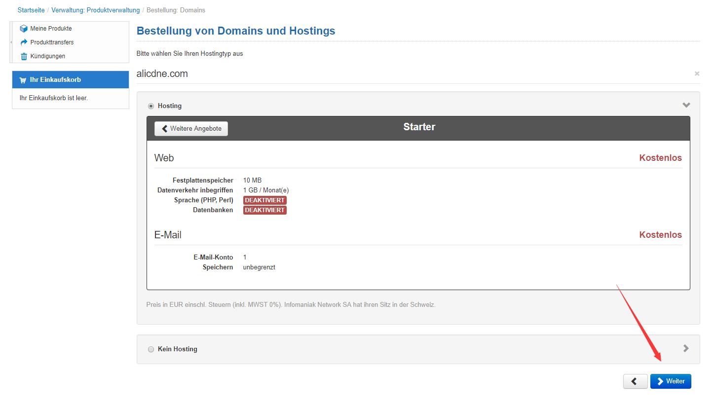 infomaniak圣诞活动:免费赠送一年域名(可选COM/NET/ORG等主流后缀)+虚拟主机和Email空间 其他 第7张