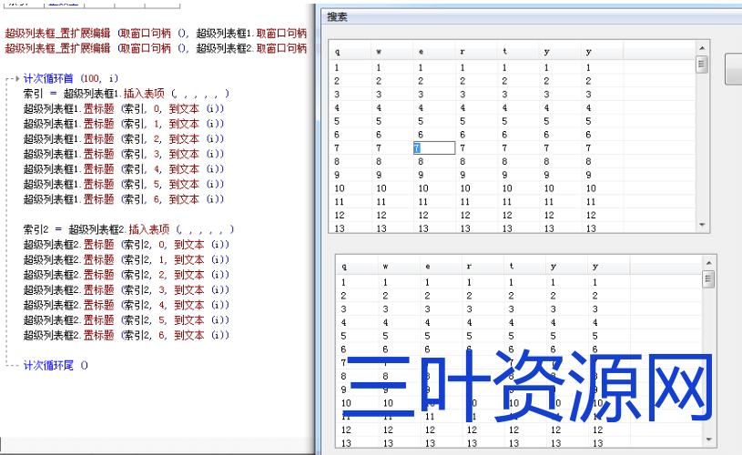 超级列表框功能扩展 加入编辑功能