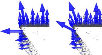 法线计算中K近邻参数的影响