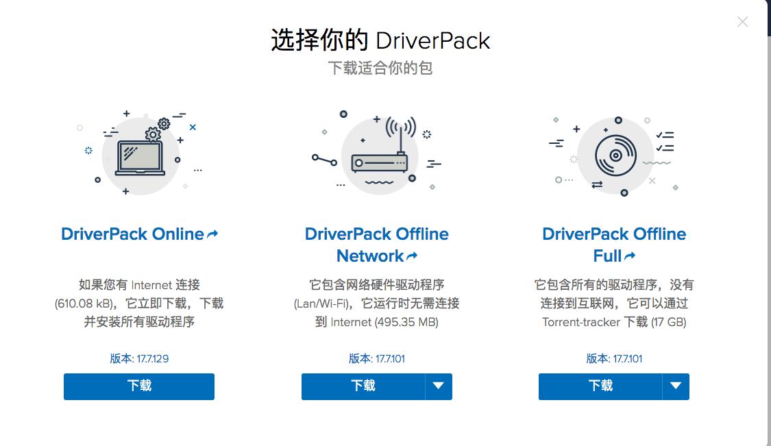 下载 DriverPack