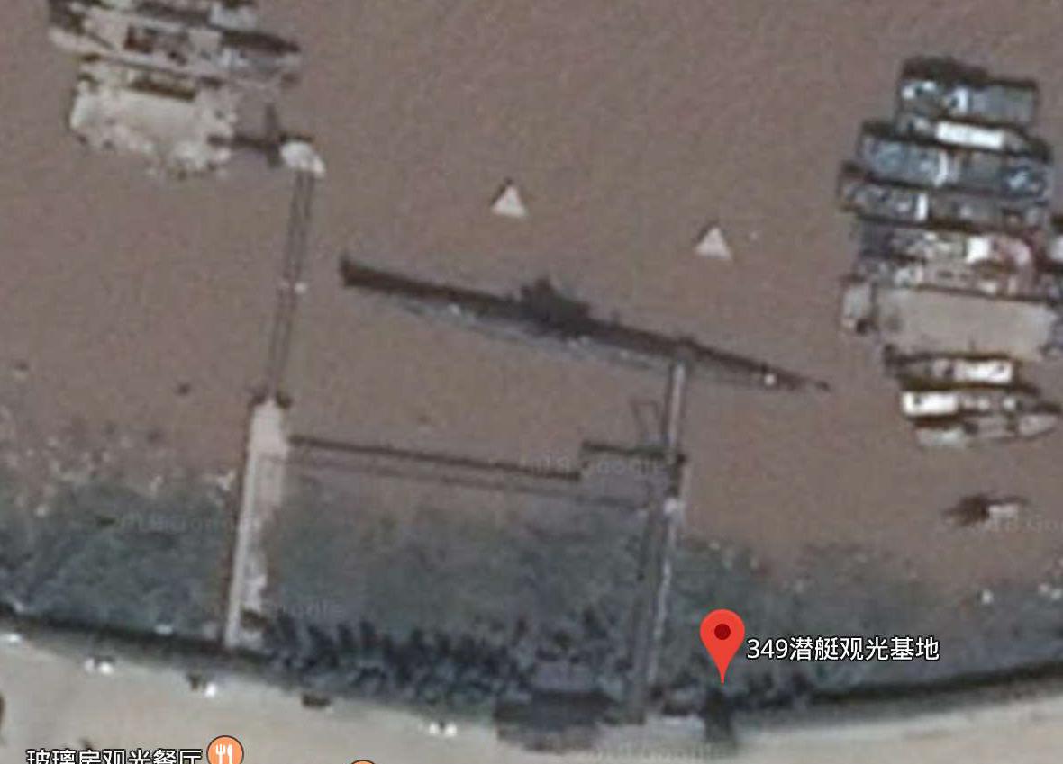 6633潜艇-349-浙江台州椒江大桥公园北侧的349潜艇观光基地-1.jpg