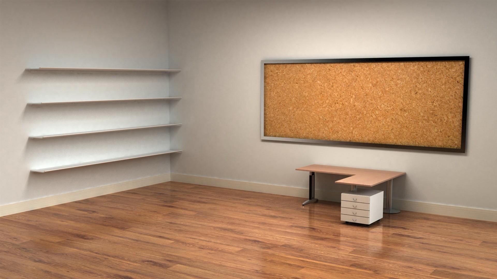 抖音超火的3D立体房间电脑桌面壁纸图片