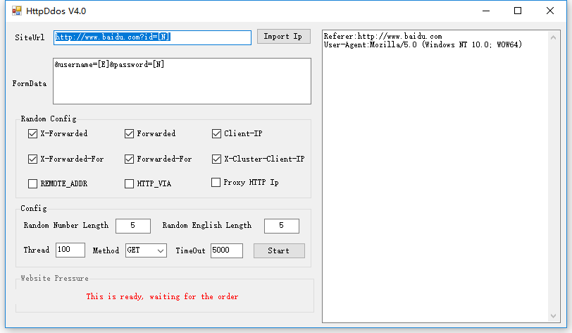 网站CC攻击测试工具