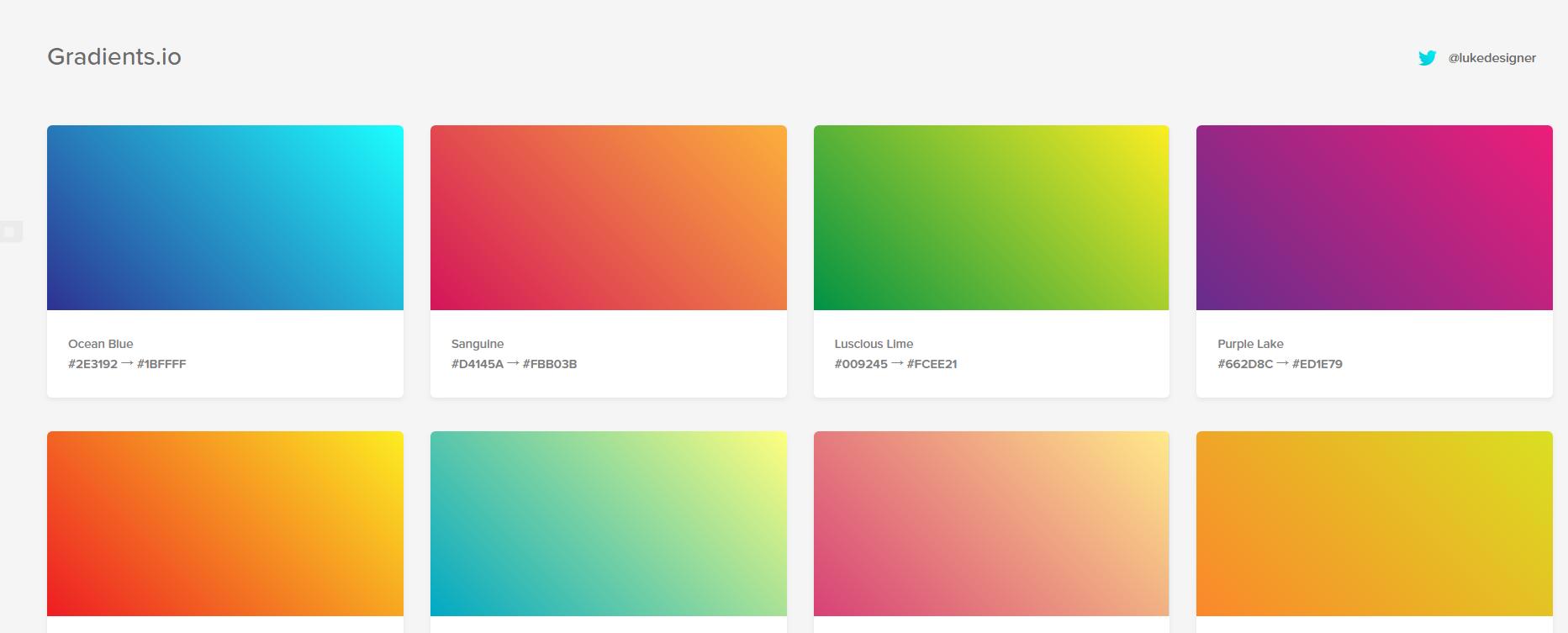 缺少配色灵感,整理超全超赞的配色工具帮你-第5张图片-木头资源网