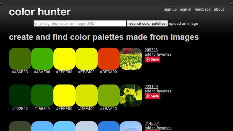 缺少配色灵感,整理超全超赞的配色工具帮你-第6张图片-木头资源网