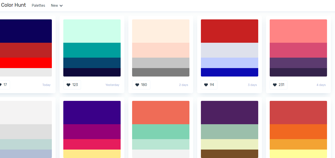 缺少配色灵感,整理超全超赞的配色工具帮你-第15张图片-木头资源网