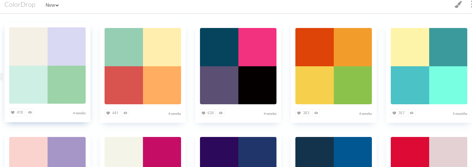 缺少配色灵感,整理超全超赞的配色工具帮你-第16张图片-木头资源网