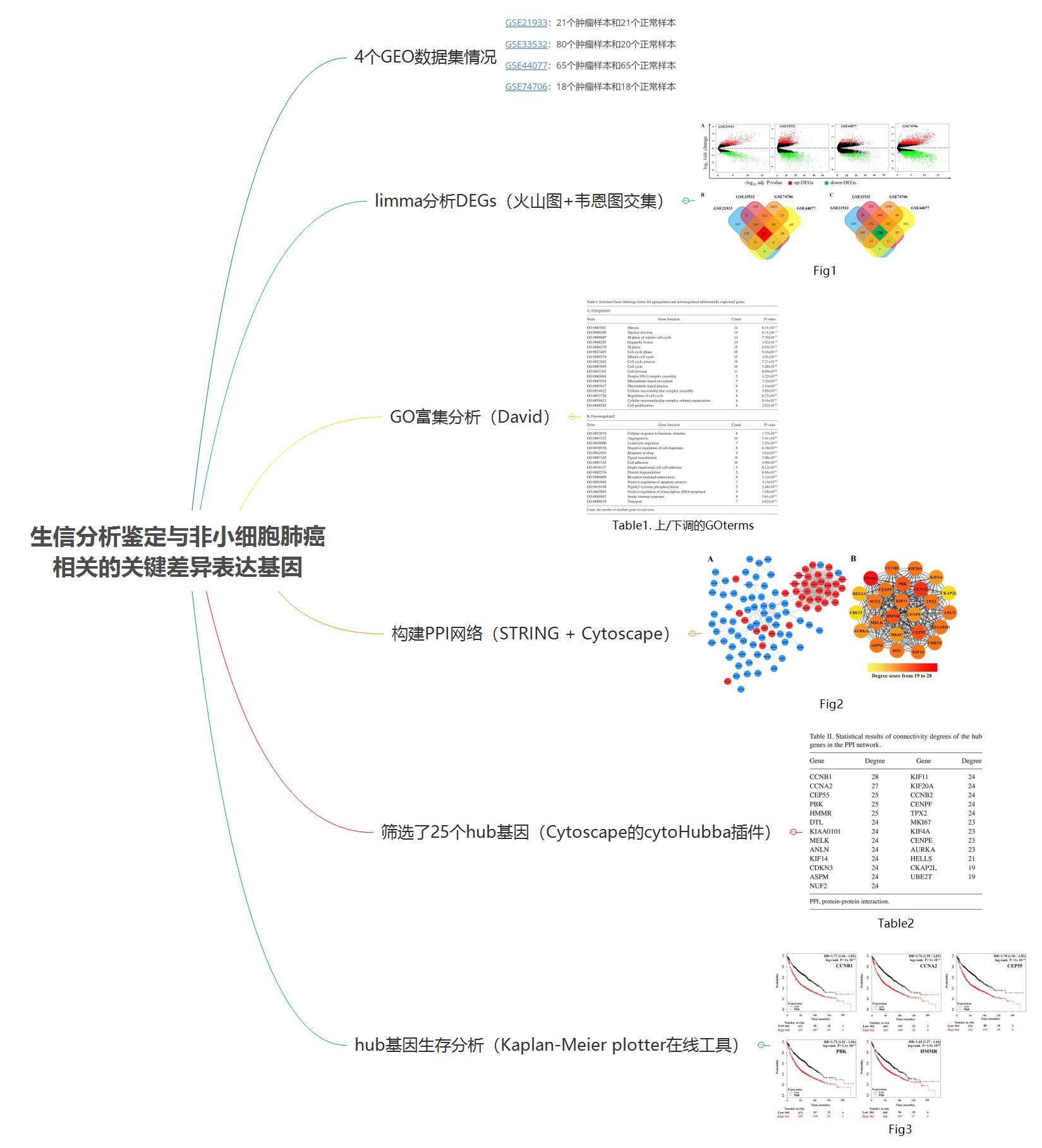 生信分析鉴定与非小细胞肺癌相关的关键差异表达基因.png