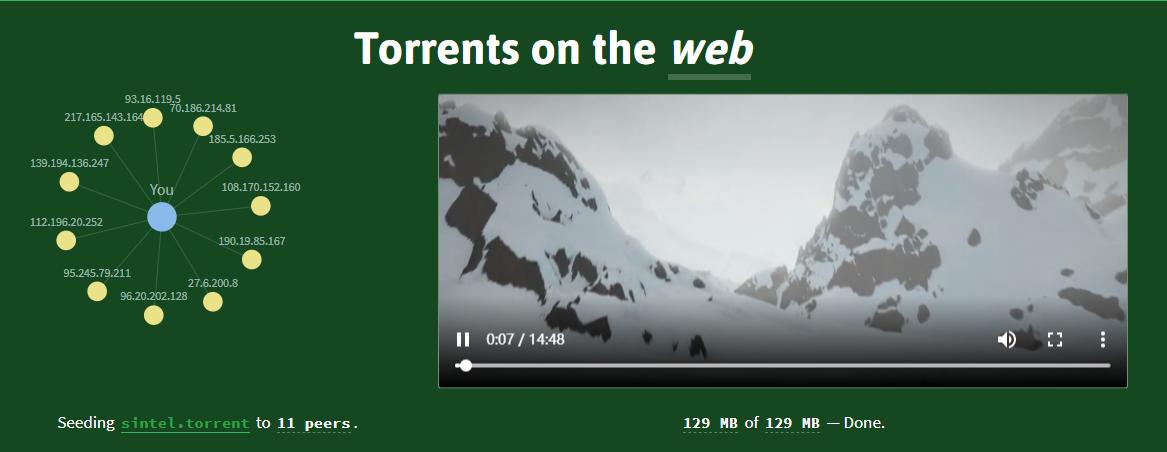WebTorrent:新年飙个车吧,敏感资源边下边看(Windows/Mac/Linux/浏览器)