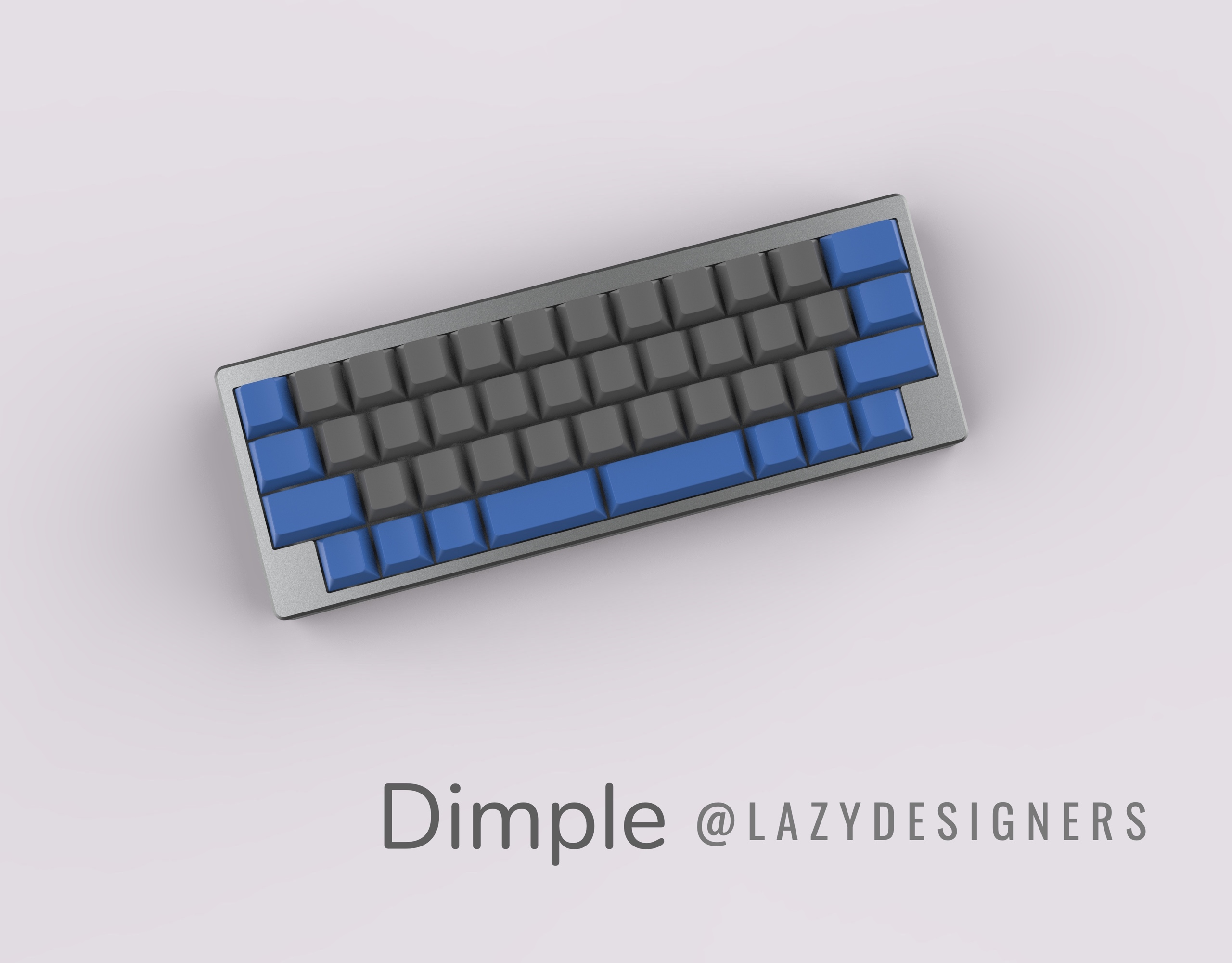 IC] Dimple - a 40% layout keyboard (Final Update:kit assembling video)