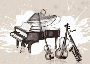 音乐主题图片收集