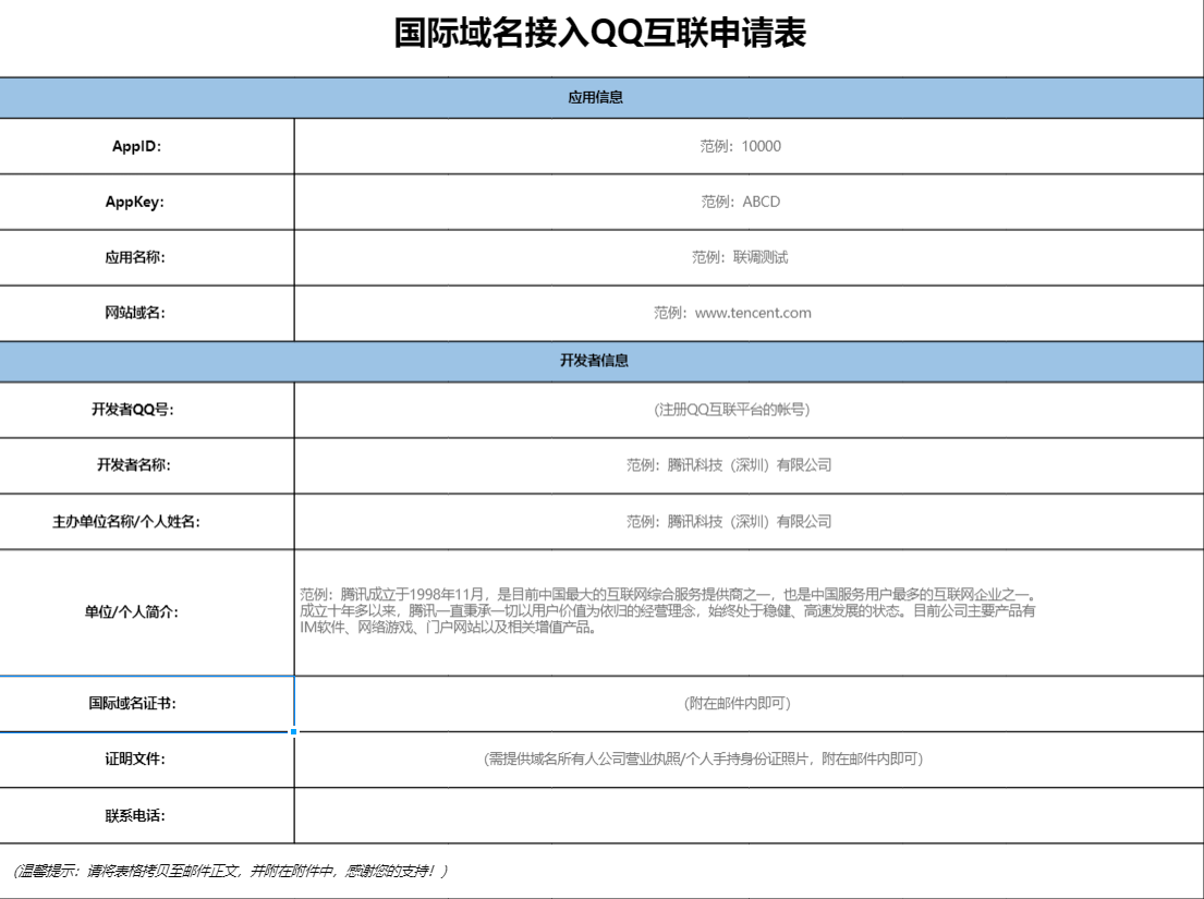 最新 未备案国际域名接入QQ互联平台教程 免备案接入QQ登录