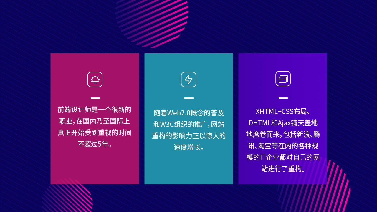 web前端设计有发展吗2