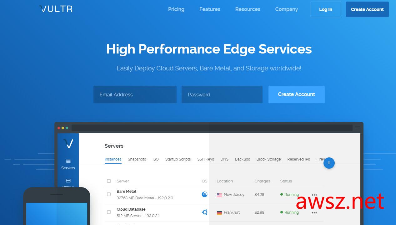 vultr:云服务器,送$50,16个机房,可随建随删,可Alipay - 主机测评