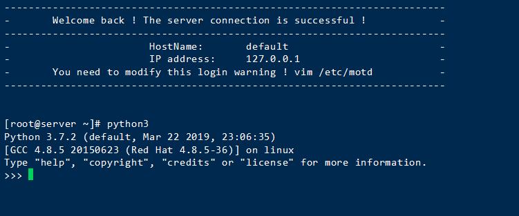 centos7+宝塔面板环境下安装Python3与Python2共存