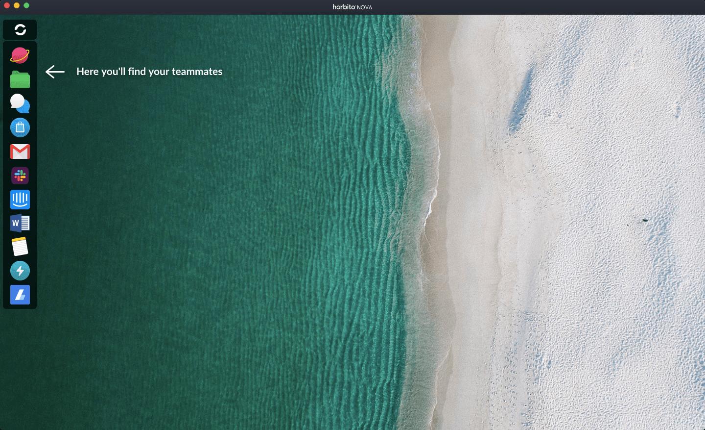 Nova 浏览器桌面