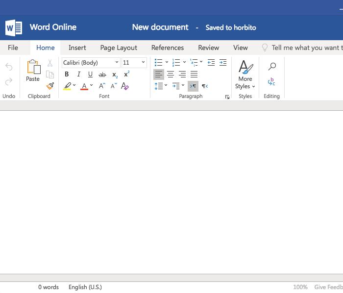使用 office 处理文档