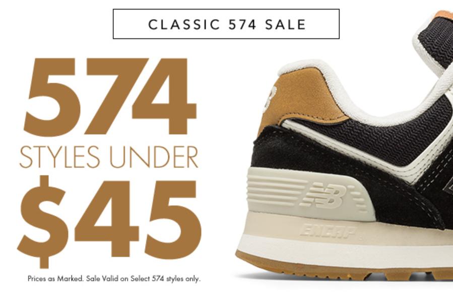 经典 574 男士复古跑鞋