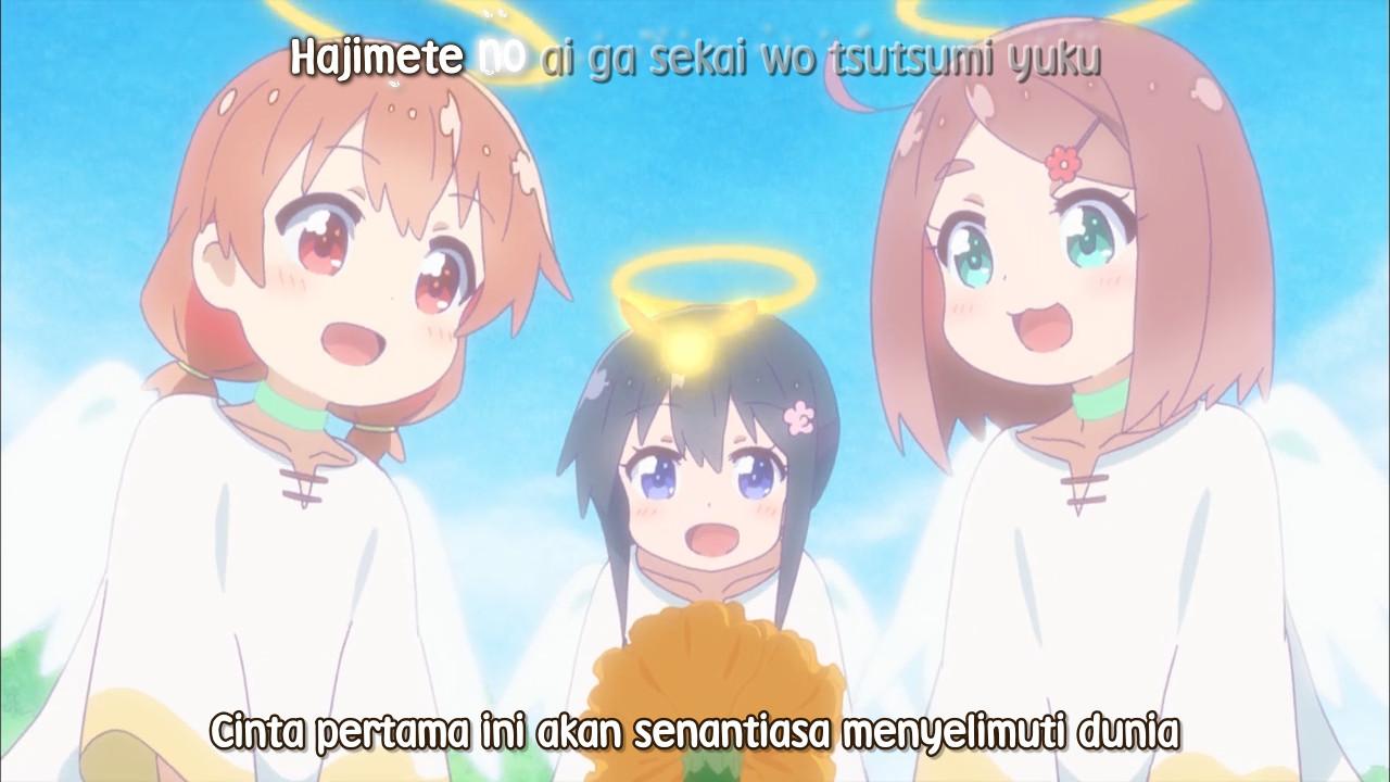 Watashi ni Tenshi ga Maiorita! Episode 12 (END) Subtitle Indonesia