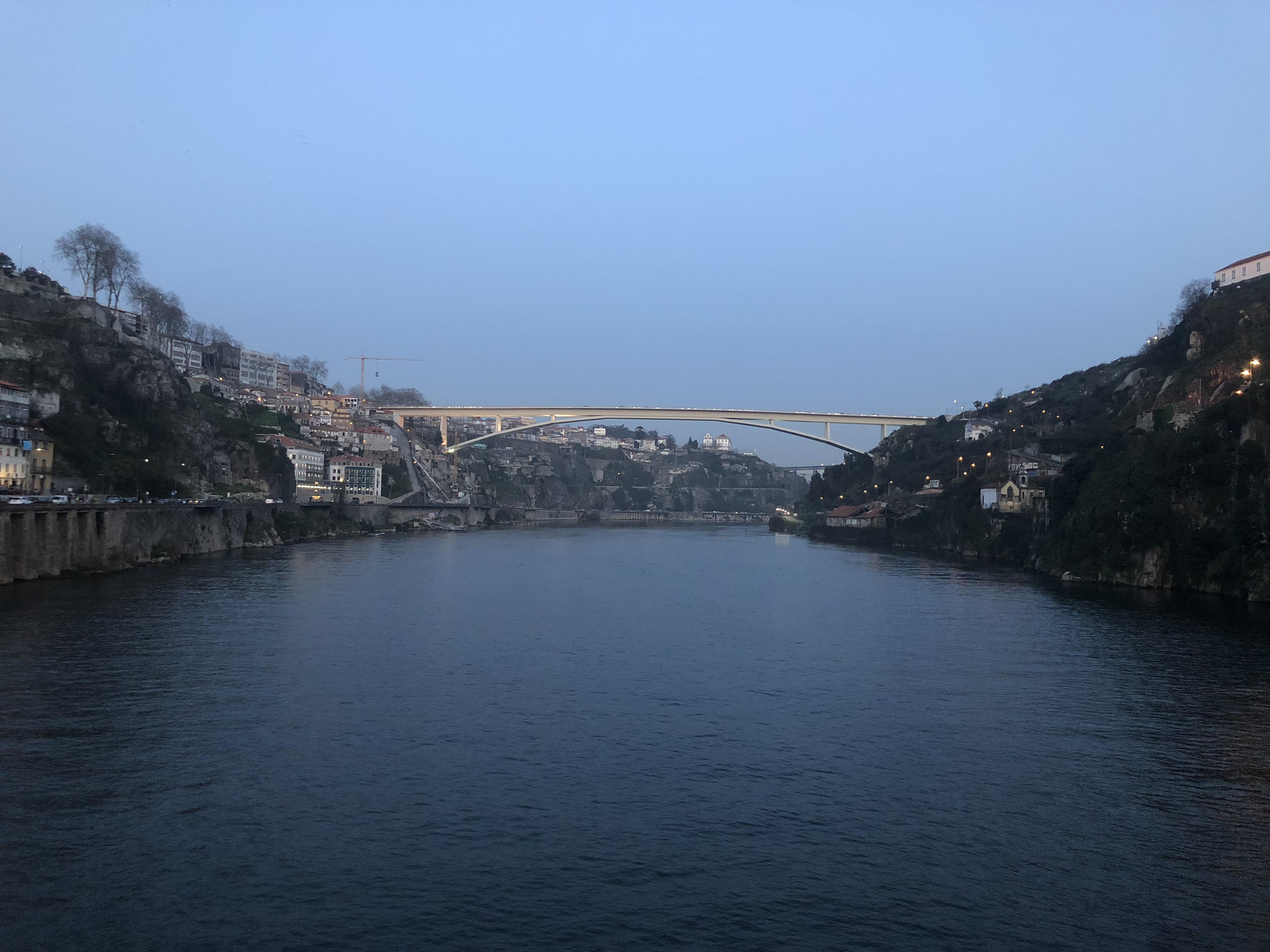 View towards bridge