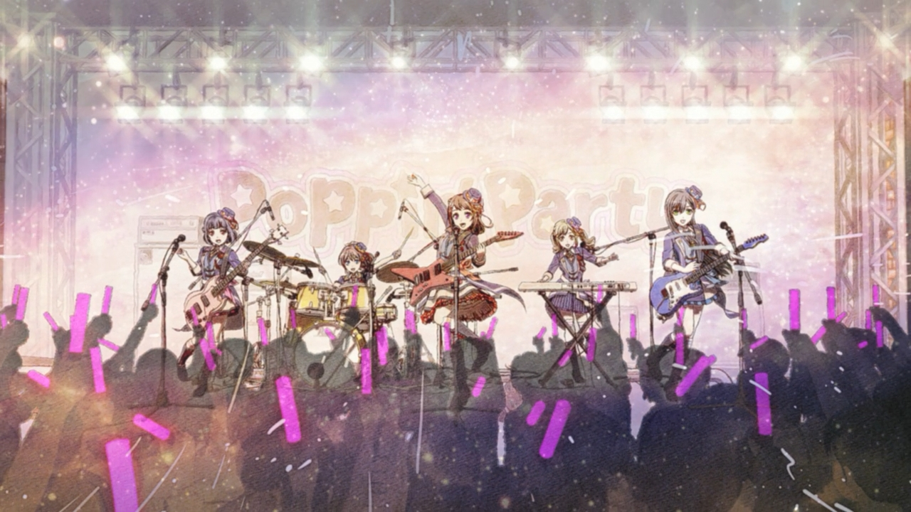 BanG Dream! Season 2 Episode 13 Subtitle Indonesia