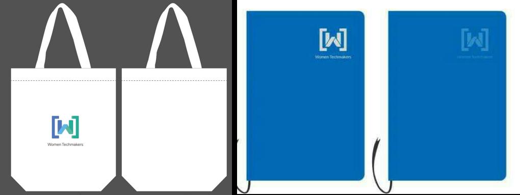 WTM 帆布袋和笔记本图片