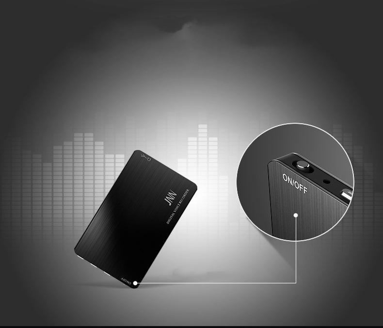 VOICE RECORDING in TINY SLIM FLAT SECRET RECORDER COVERT SPY POWERFUL MICROPHONE