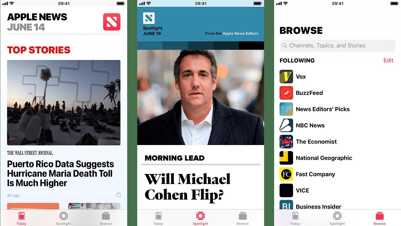 Apple-News-Screenshots