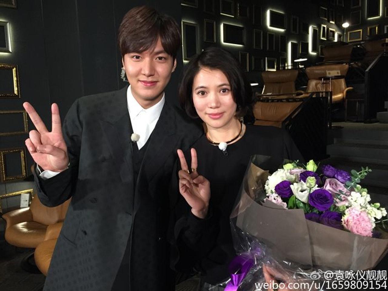 #娱讯#等了两年男神李敏镐终于退伍,袁咏仪展示迷妹一面:期待你的新作!