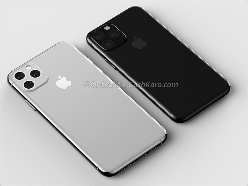#快讯#2019 年iPhone XI 系列最新渲染曝光,镜头有所改变,静音键也有变化
