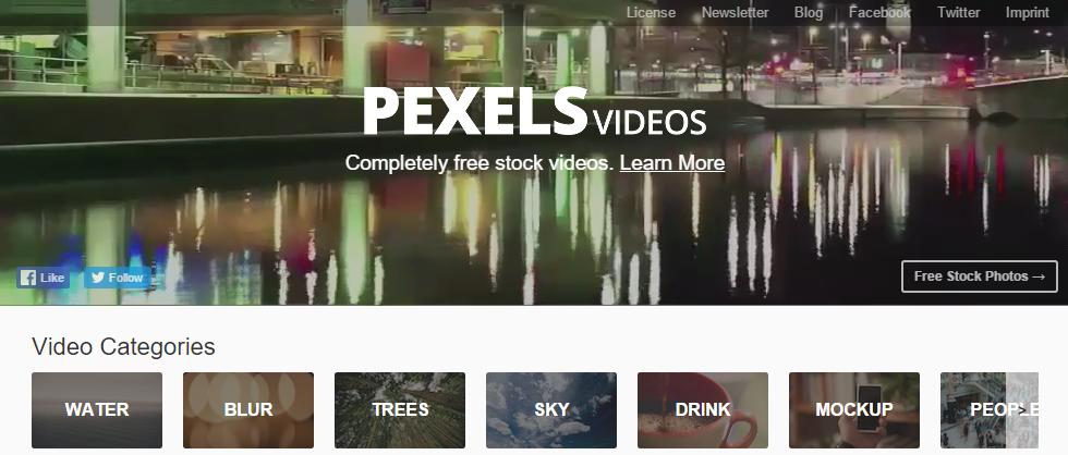 干货分享!10个国外免费视频素材下载网站