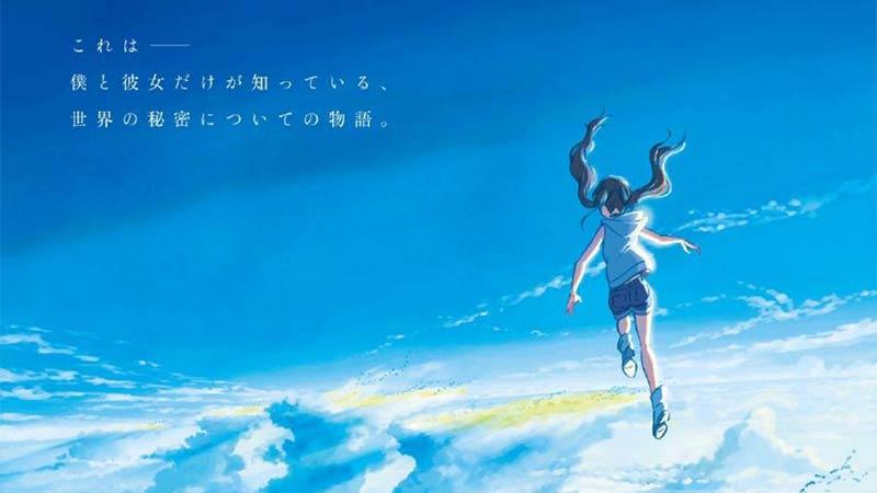 【PV】新海诚《天气之子》PV公开 2019年7月19日上映