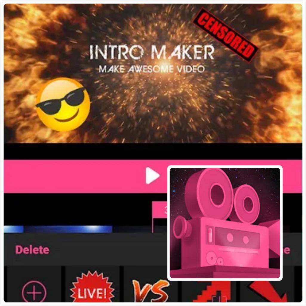 IM视频编辑神器Intro Maker视频编辑 PRO v2.1.4特别版 『外国人的乐秀』