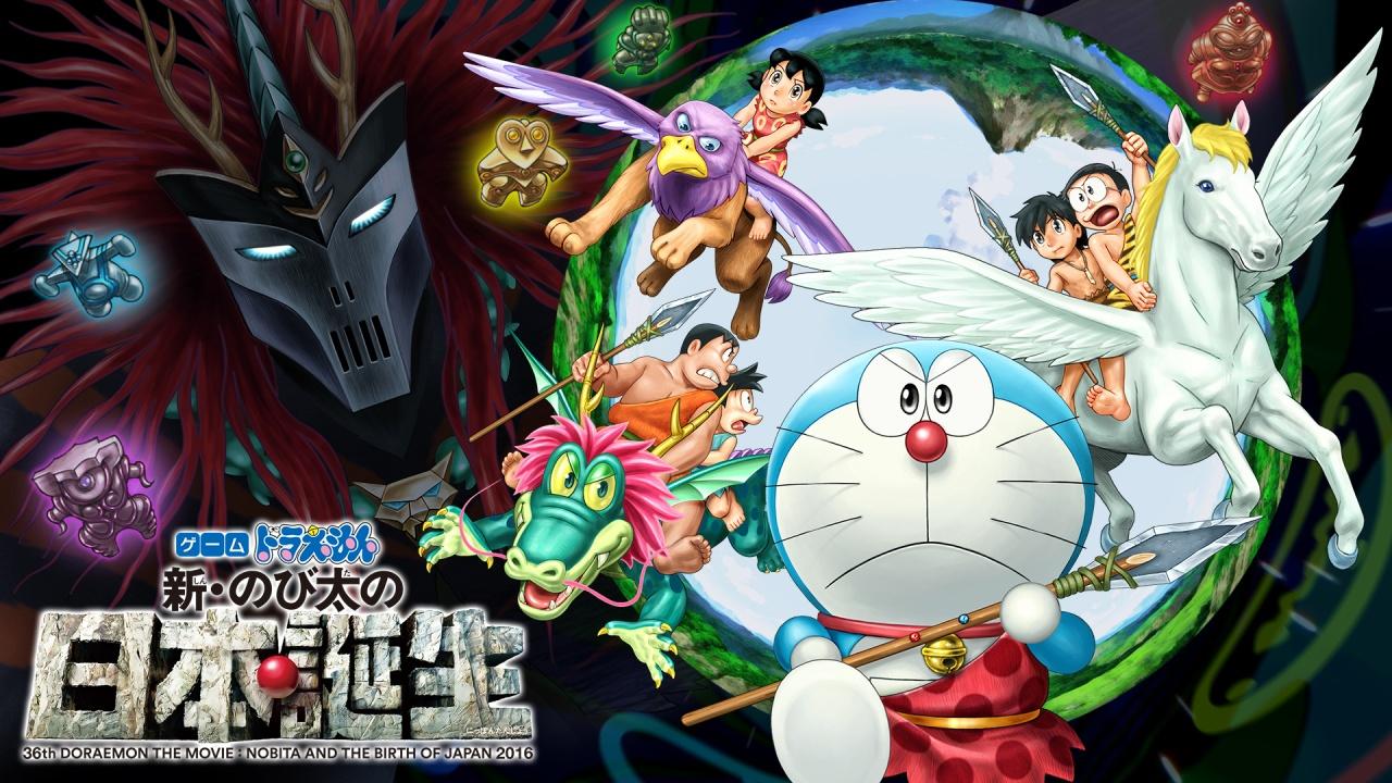 [Snow-Raws] 哆啦A梦剧场版:新·大雄的日本诞生/Eiga Doraemon: Shin Nobita no Nippon Tanjou /映画ドラえもん 新・のび太の日本誕生 (BD 1920x1080 HEVC-YUV420P10 FLAC)