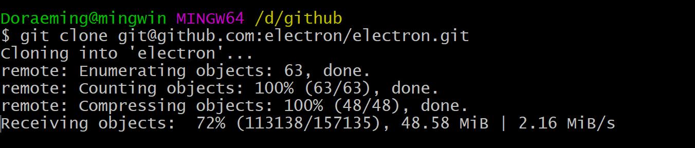 Git clone ssh under socks proxy