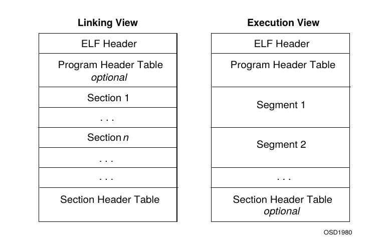 ELF 格式视图