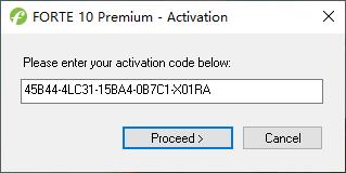 乐谱制作软件 FORTE Premium v10.1.0 附注册码
